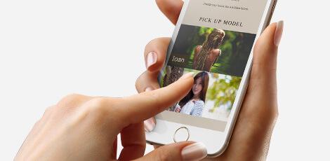 スマートフォンに最適化されているかの画像